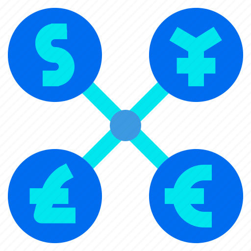 business, currency, exchange, finance, money, payment icon