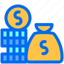business, finance, money, payment, rich icon