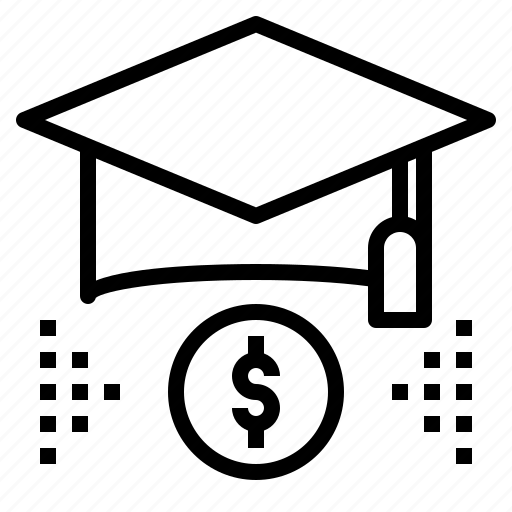 budget, education, loan, money, scholarship icon