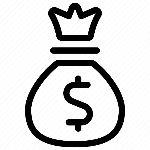 bag, dollar, finance, money, payment icon