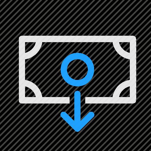 Bank, deposit, money, note, transfer icon - Download on Iconfinder