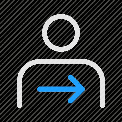 Human, man, money, next, transfer icon - Download on Iconfinder