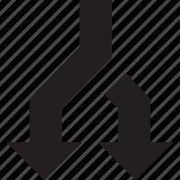 copy, fork icon