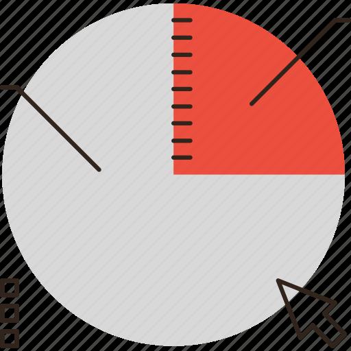 business, chart, data, diagram, market, profit, share, stock icon