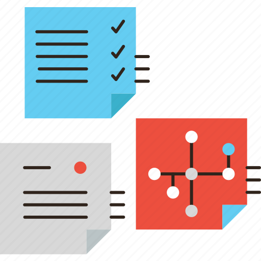 business, lists, memo, notes, organization, plan, planning, sticky, tasks, todo icon