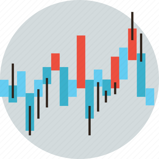 chart data figures financial market stock trade trading icon