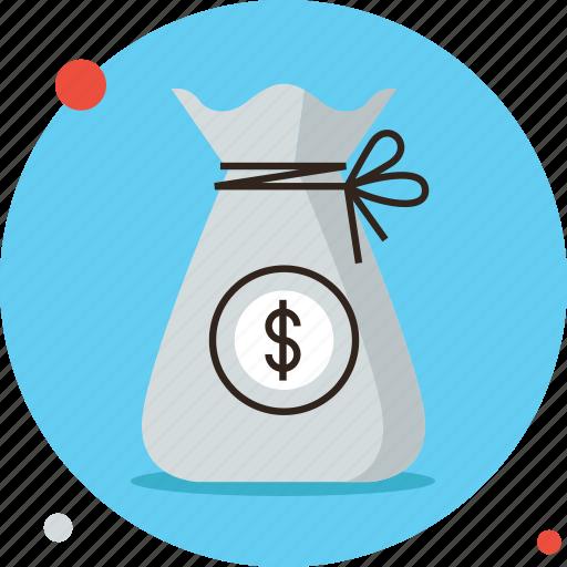 asset, bag, budget, capital, funds, money, savings, wealth icon
