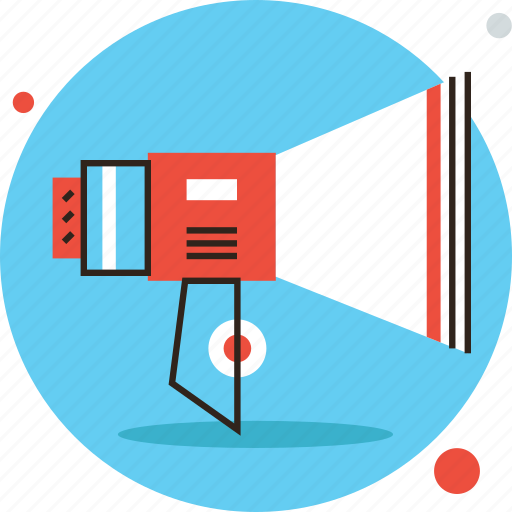 advertisement, announce, attention, broadcast, loudspeaker, marketing, promotion icon