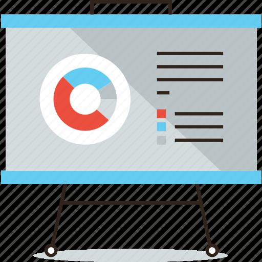 analysis, board, business, data, flipchart, graph, market, presentation icon
