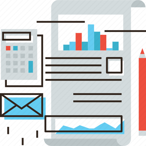 audit, budget, business, finance, financial, paper, report, tax icon