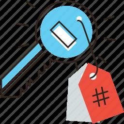 business, content, internet, key, keyword, keywording, tag icon