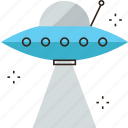 expectation, spacecraft, spaceship, travel, ufo, unknown icon