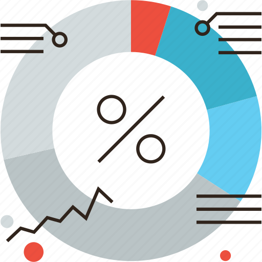 analysis, analytics, budget, business, finance, infographic, shares icon