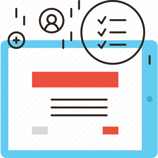 checklist, inquiry, mobile, opinion, questionnaire, survey icon