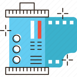 film, photo, photography, roll, strip icon
