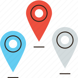 geo, location, map, mark, pin, place, point, position, travel icon