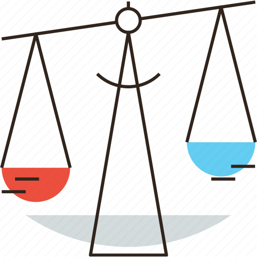 arbitration, balance, equality, equity, judical, law, libra, scale icon