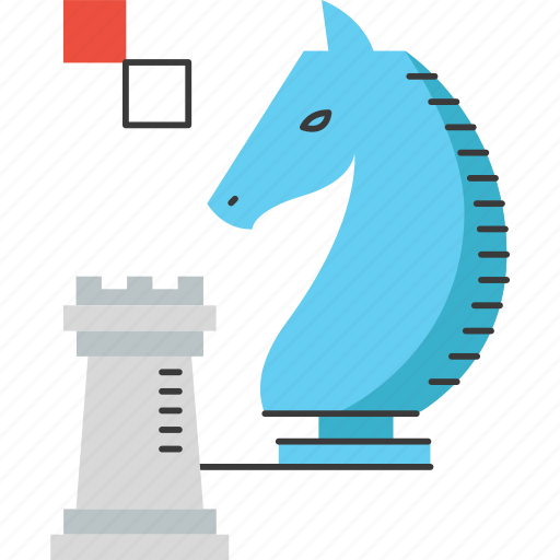 advantage, business, challenge, chess, defense, plan, strategy icon