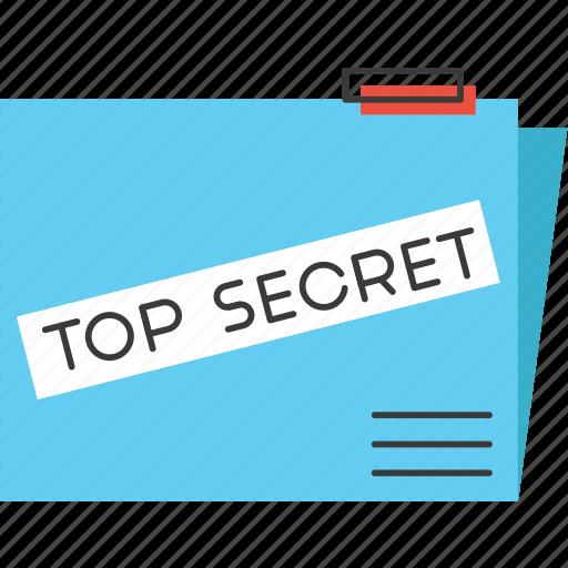 classified, confidential, database, files, folder, government, secrecy, secret icon
