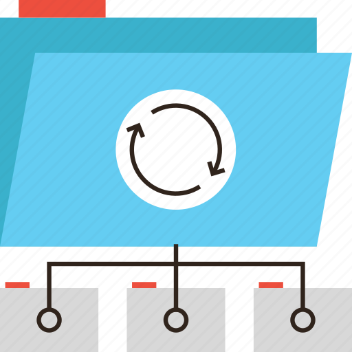 archive, backup, data, directory, files, ftp, online, server, sync, update icon