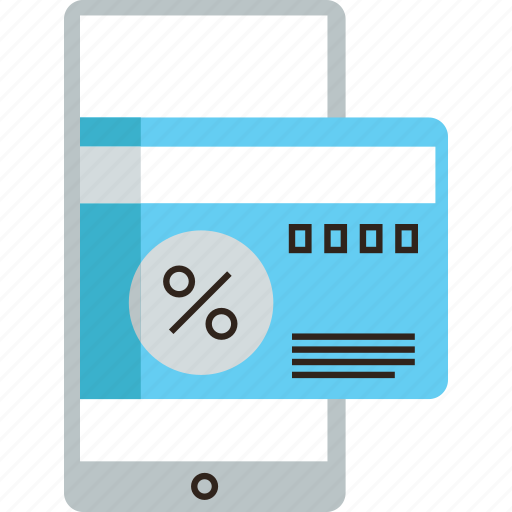 banking, card, credit, mobile, payment, phone, transaction, transfer icon