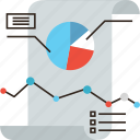 analysis, business, chart, data, graphic, report, sheet, statistics icon