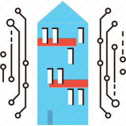 automation, future, home, house, internet, office, smart, system icon