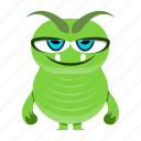 alien, cartoon, character, cute, devil, halloween, monstermonster icon
