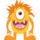 character, halloween, horrible, monster, scary icon