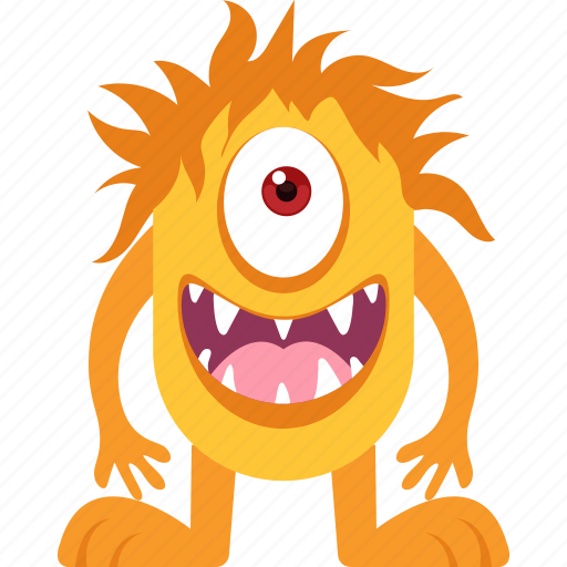 Character, horrible, monster, scary icon - Download on Iconfinder