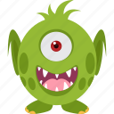 character, horrible, monster, scary icon