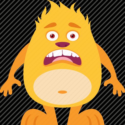 cartoon monster, cute monster, fiend, giant, monstrosity icon