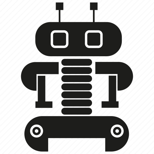 Cartoon, character, cute, cyborg, monster, robot, robotic icon - Download on Iconfinder