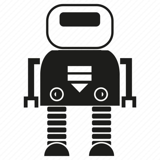 Cartoon, character, cute, cyborg, machine, robot, robotic icon - Download on Iconfinder