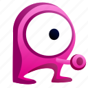 alien, avatar, creature, eye, monster icon
