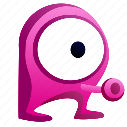 alien, avatar, creature, eye, monster icon