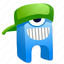 alien, avatar, creature, hat, monster icon