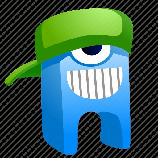 alien, avatar, creature, hat, monster icon