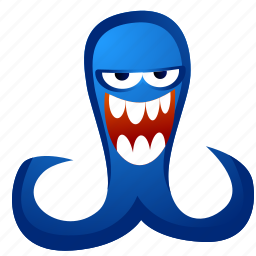 alien, avatar, creature, monster, tentacles icon