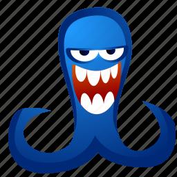 alien, avatar, creature, monster, tentacles icon