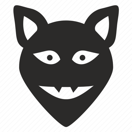 animal, evil, ghost, monster icon