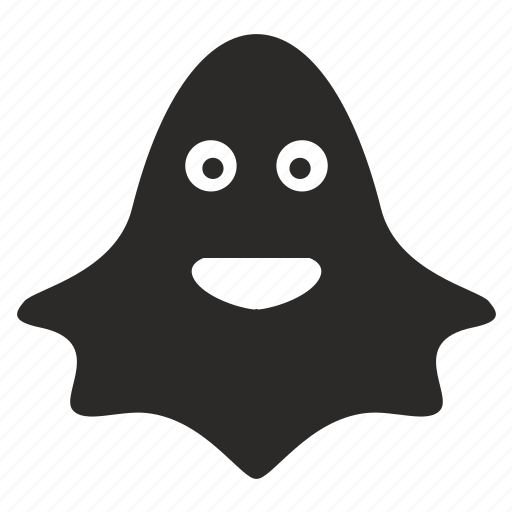 evil cartoon ghost - 512×512