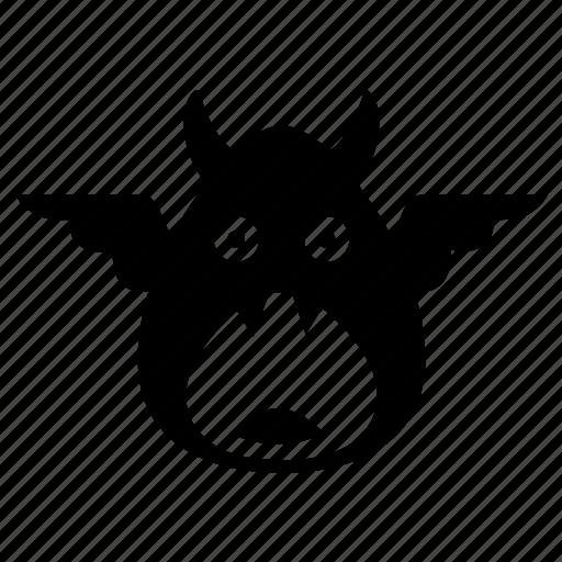 Egg, evil, fly, monster icon - Download on Iconfinder