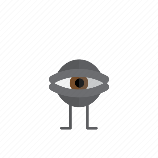 creepy, eye, halloween, horror, monster, scary icon
