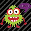 ghost, cartoon monster, goblin, bigfoot, gremlin troll