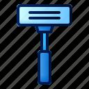 razor, man, morning, routine, blade, shave