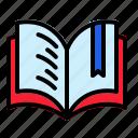 book, read, open, literature, morning, education, knowlledge