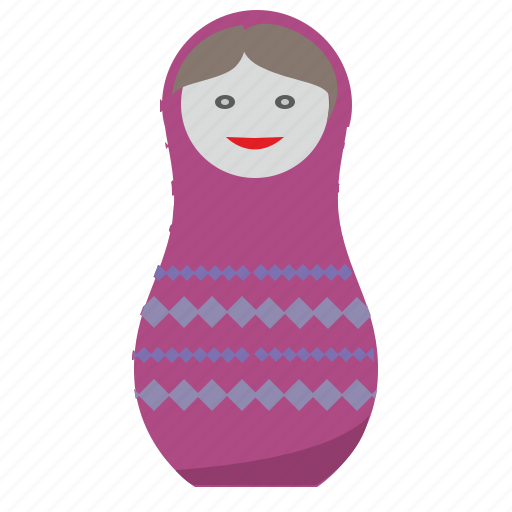 matreshka, russia, tradition, woman icon