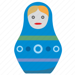 art, culture, matreshka, toy icon