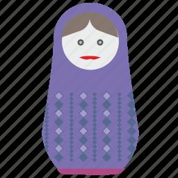 matreshka, russia, toy, tradition, woman icon